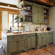 door style: Woodbridge IH Profileseries: Inset/DAE hingewood: Birchfinish: Custom Solid with heavy brown glaze